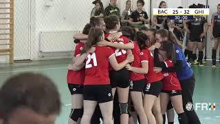 CSS Bacau – CS Sporting Ghimbav / Finala Mică – Turneul Final Juniori 3 Feminin Valoare thumbnail