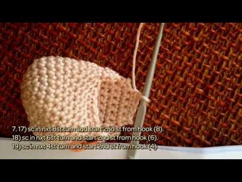 Little Crochet Doll Pattern, Mini Doll Pattern, DIY Amigurumi Doll ... | 360x480