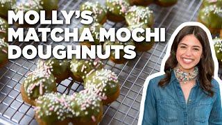 Matcha Mochi Doughnuts with Molly Yeh | Food Network