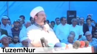 Diyanet İşleri Başkanı Risale-i Nur hakkında konuşması... 2017 Video