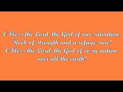 O Bless the Lord (John Michaels)