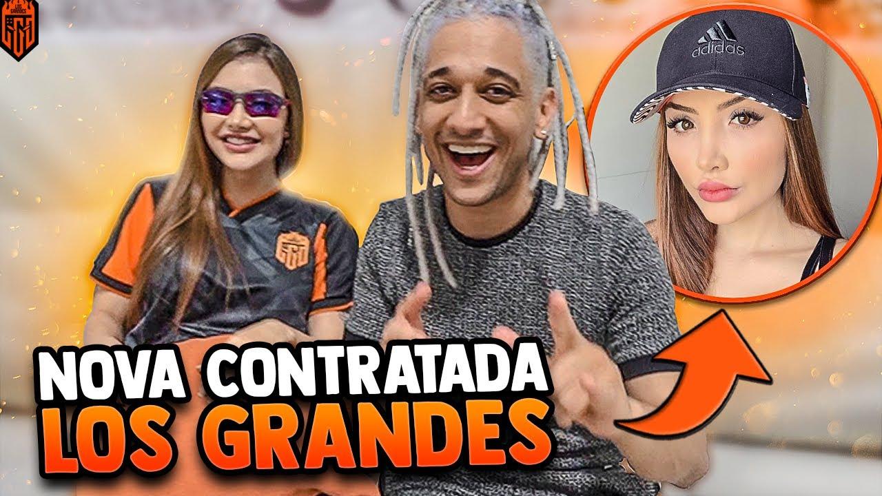NINGUÉM SABE QUEM É A NOVA MORADORA!!! LOS GRANDES FREE FIRE
