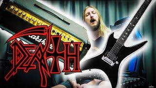 DEATH CHUCK SCHULDINER GUITAR GEAR - Marshall Valvestate & BC Rich Stealth