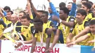 матч за суперкубок Кыргызстана Алай выиграл у Дордоя в серии пинальти 2:2 пен (4:2)