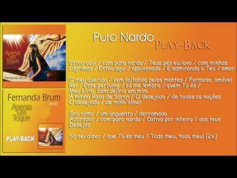 Puro Nardo [Playback] Fernanda Brum - CD