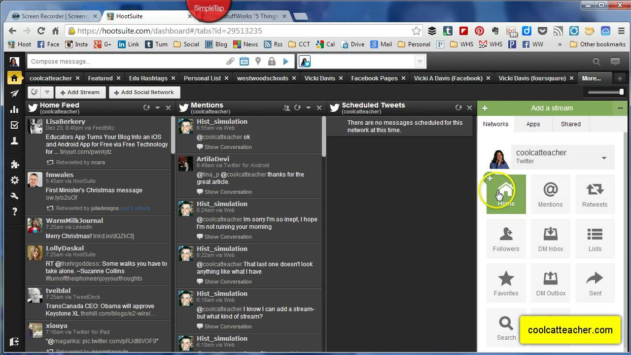 Hootsuite tutorial setting up hootsuite youtube ccuart Gallery
