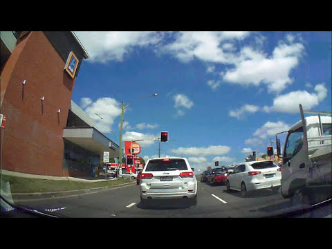 Driving Sydney : Parramatta - Wentworths Fall - Penrith