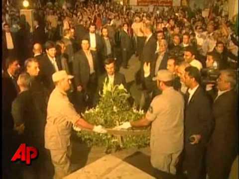 Ahmadinejad Comes To Israel's Doorstep