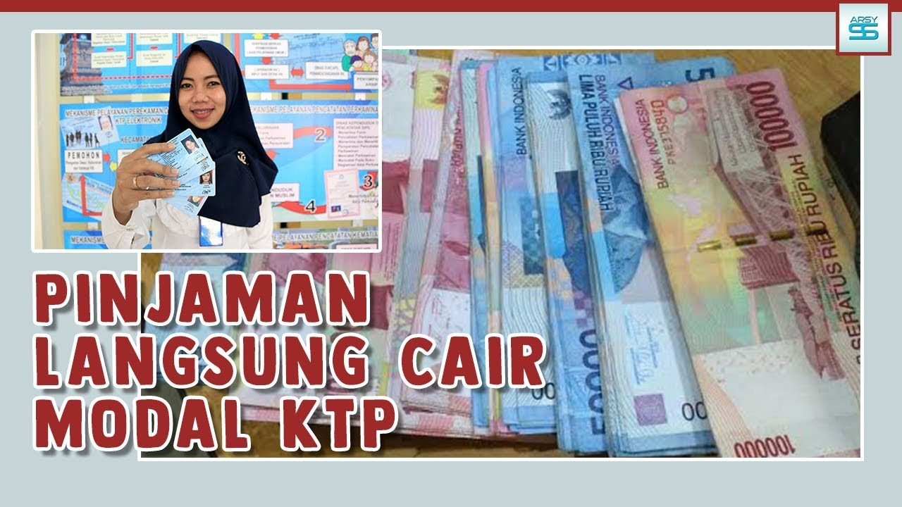 Pinjaman Online Langsung Cair Hanya Ktp 1x24 Jam Youtube