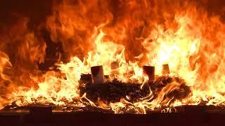 Wenn der Adventskranz brennt