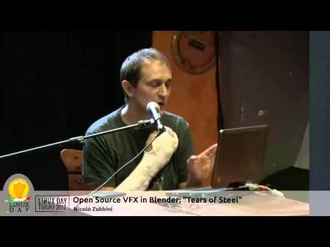 """LDTO12: Open Source VFX in Blender: """"Tears of Steel"""""""