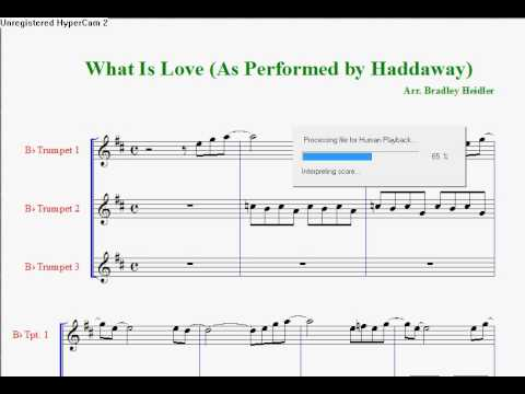 Fanfare #4 -- What Is Love