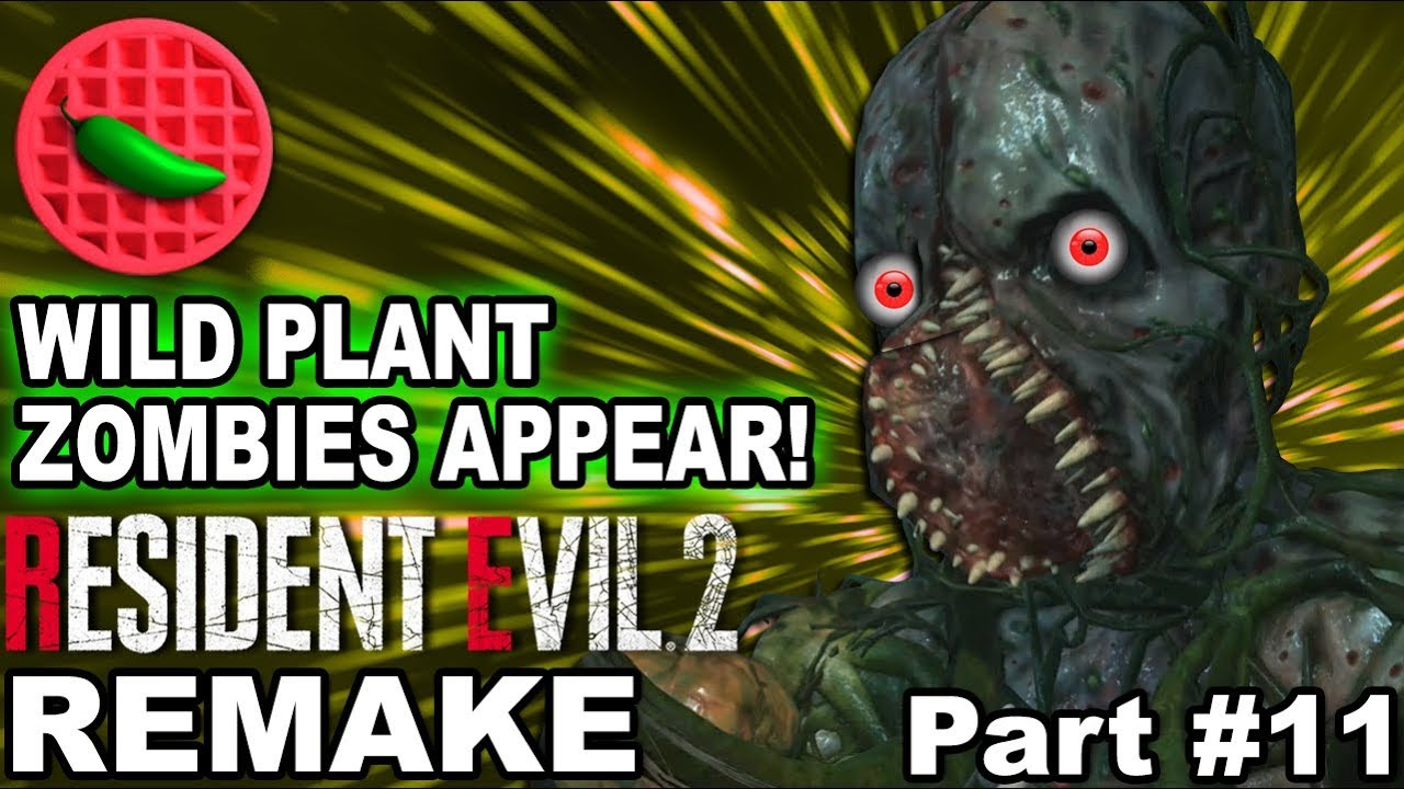 Resident Evil 2 Remake Wild Plant Zombies Appear Part 11 1080p