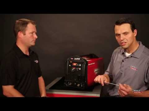 Pulsed TIG Control With The Lincoln Electric Square Wave TIG 200