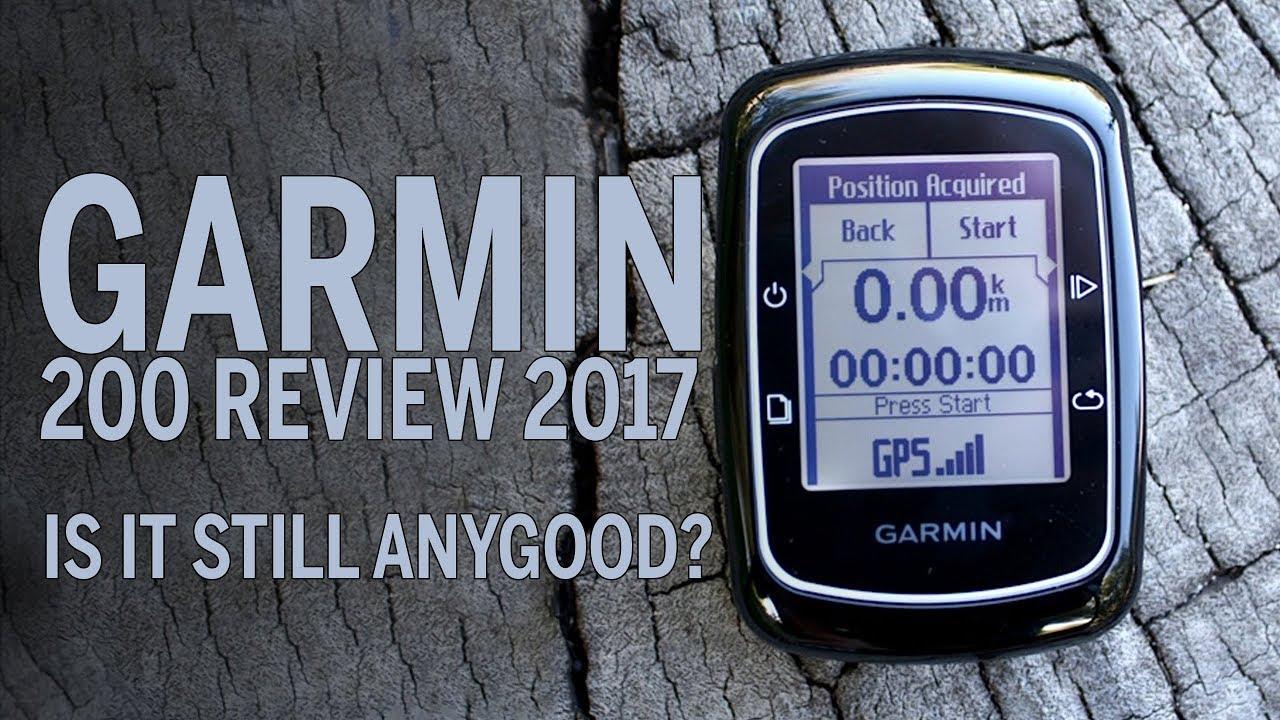 Garmin 200 Review in 2017, Does it suck?