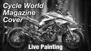 Motorcycle Art part 94 / 2020 Cycle World Cover Katana Project