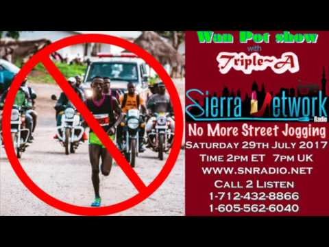 Salone News Update - No More Street Jogging