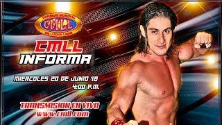 CMLL INFORMA 20 DE JUNIO  DE 2018