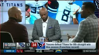 Texans defeat Titans for 8th straight win this season (franchise record)
