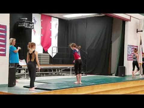 Alyssa - Gymnastics Assembly at Lakeway Elementary School
