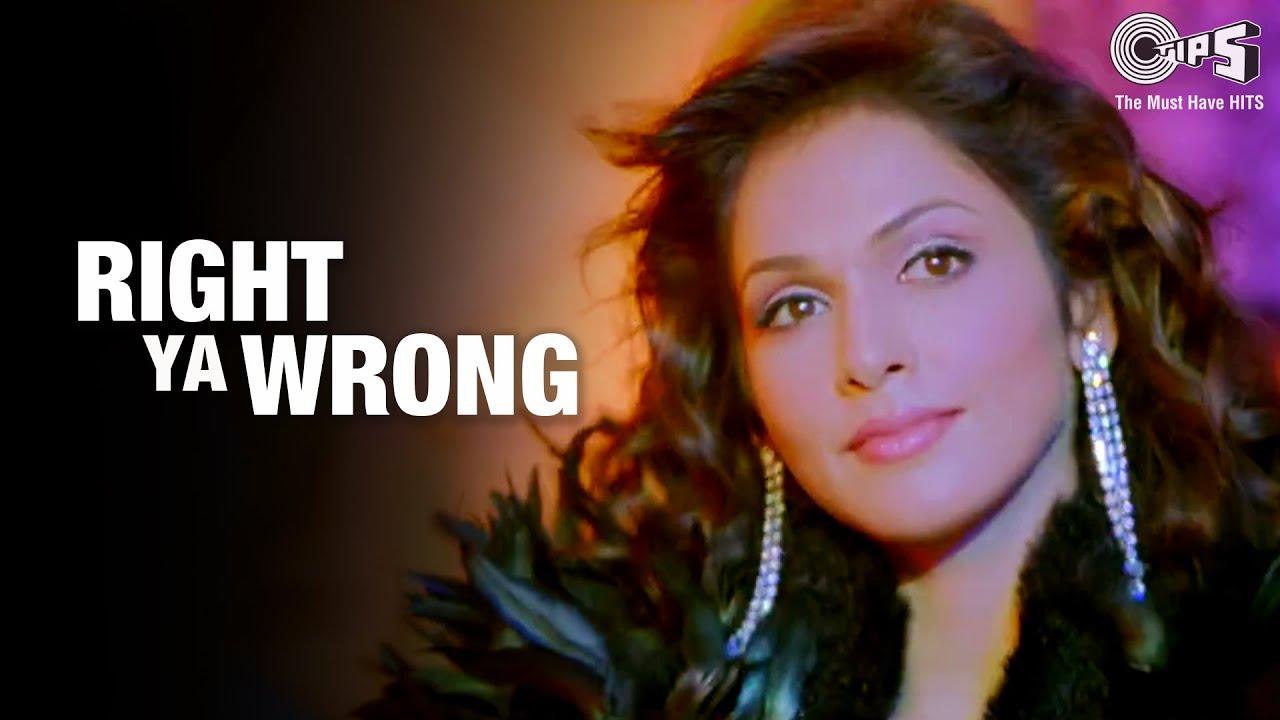 Download Right Ya Wrong Song | Sunny Deol | Isha Koppikar | Ujjaini Mukerjee | Hindi Song | Tips Official