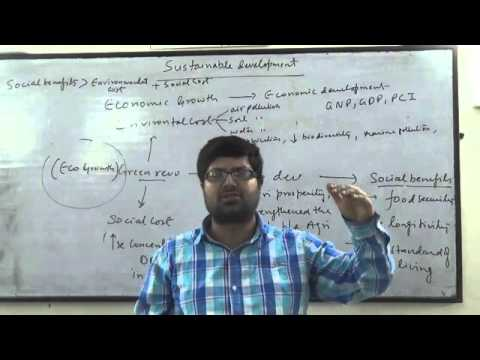 IAS(G.S) SUSTAINABLE DEVELOPMENT PART -1, BY AJAY RAJ SINGH