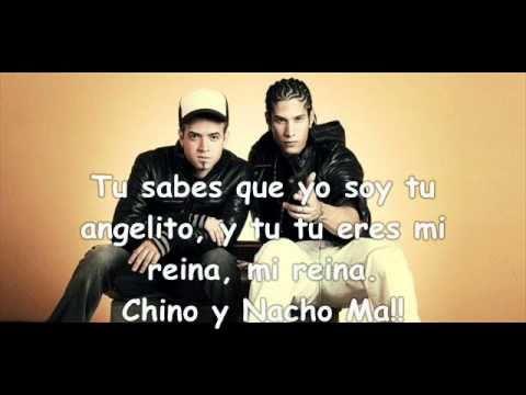 Chino y nacho tu angelito con letra(HQ)(Oficial)