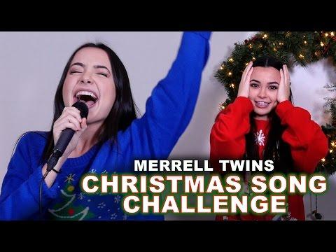 Christmas Song Challenge - Merrell Twins