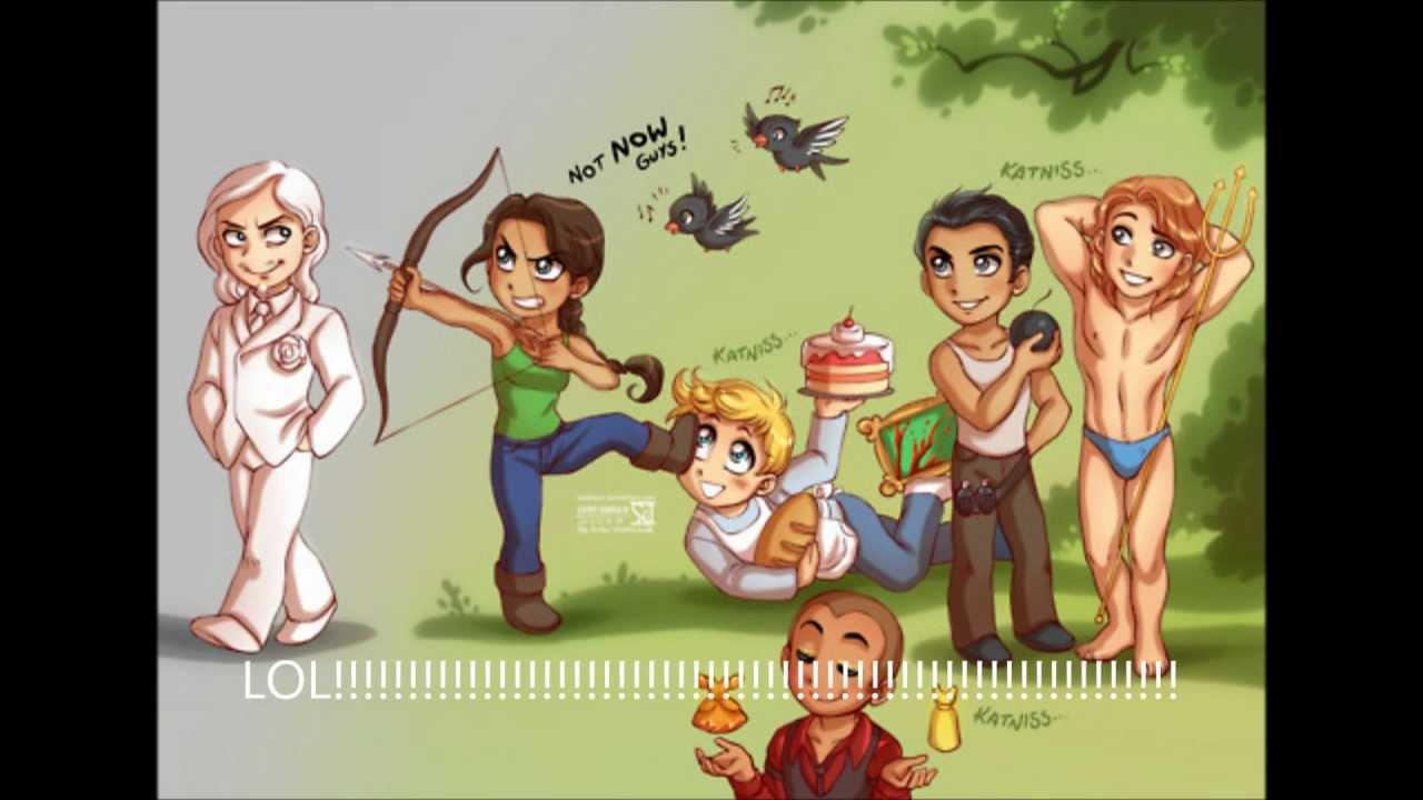 Hunger Games Funny Fan-art - YouTube