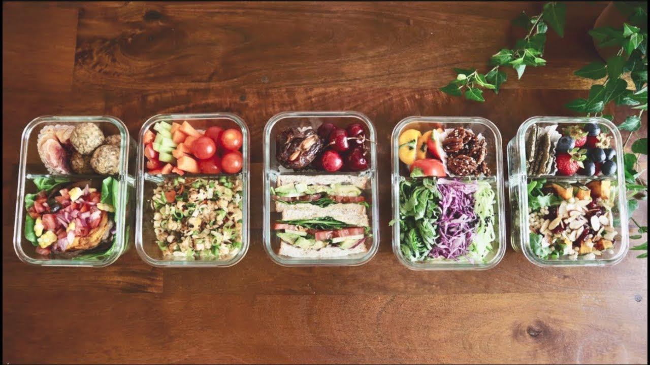 점심 밀프랩 아이디어들 | lunch mealprep ideas!