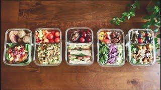 점심 밀프랩 아이디어들 | lunch mealprep …