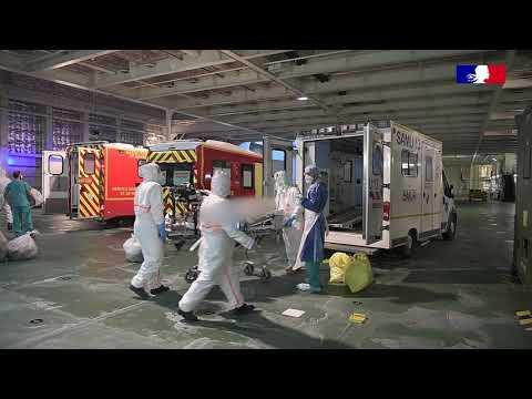 Covid-19 : troisième évacuation sanitaire de patients contaminés (3/3)