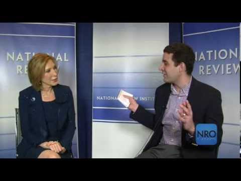 NRO Interview with Carly Fiorina at CPAC 2014