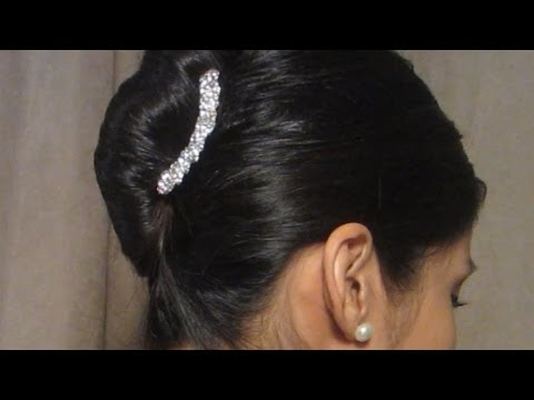 French Twist Hair Slide Youtube