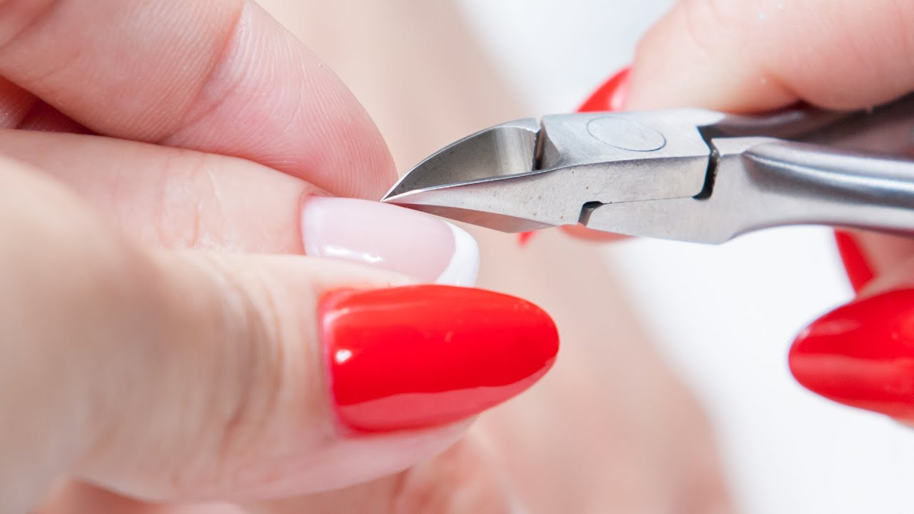 How to Cut Nail Cuticles | Manicure Tutorials - YouTube