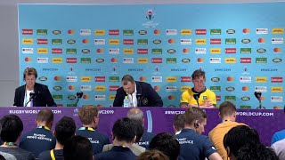 Cheika and Hooper post-match press conference | Australia v Wales
