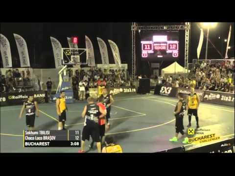 3X3 Bucharest Challenger 2015 - DAY 1