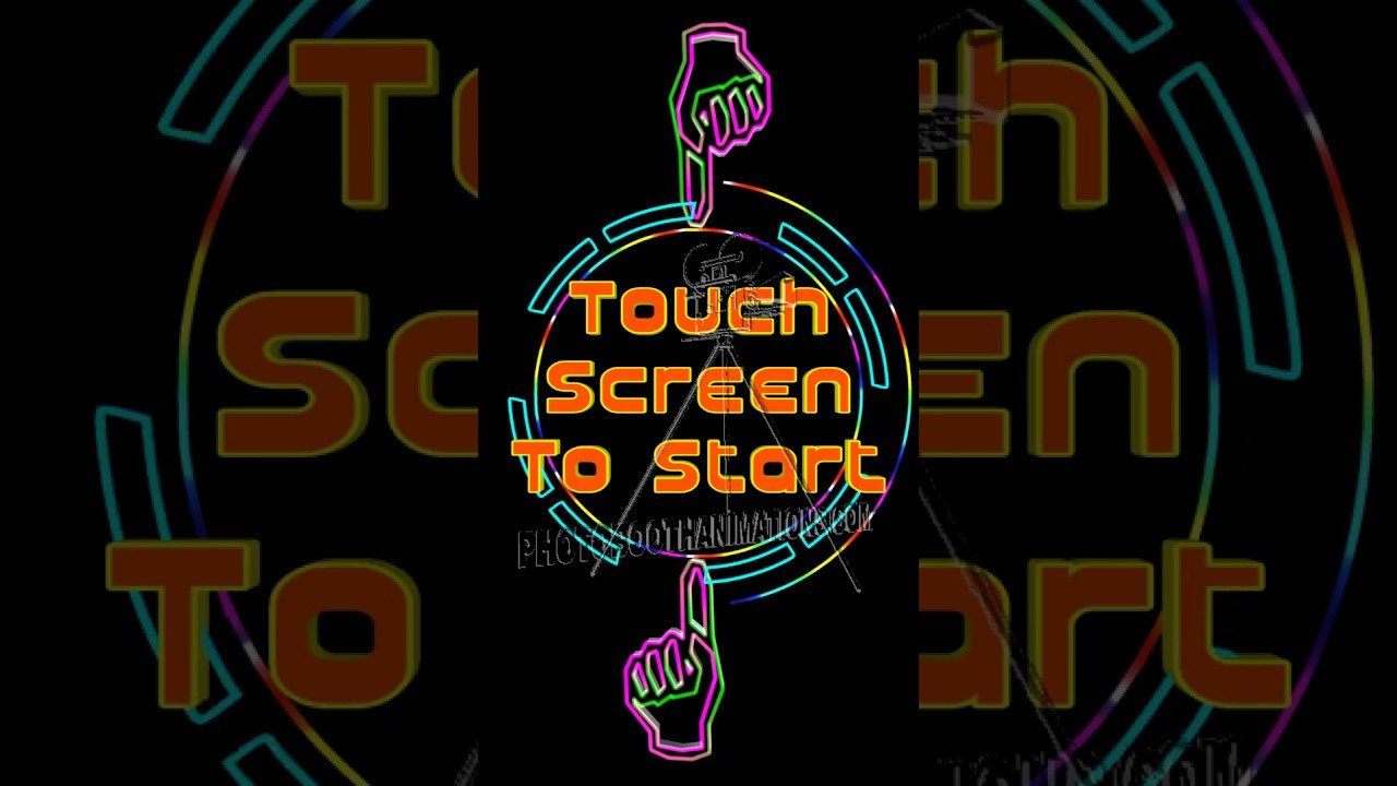 Touch Screen To Start 001w
