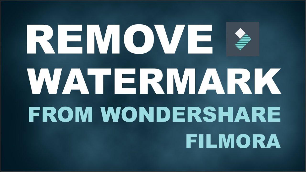 How to remove Watermark in Filmora for free | Wondershare ...