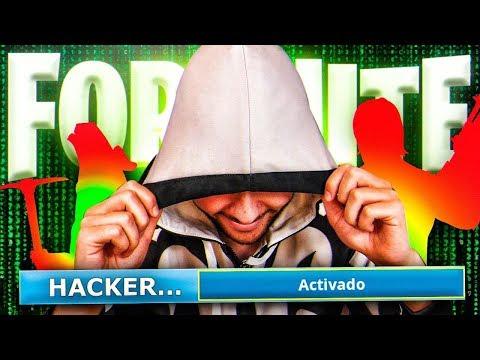¿Cómo ser HACKER en Fortnite? - TheGrefg
