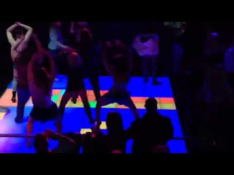 St Louis BUTI YOGA Flash mob at Boogie Nights at Hollywood Casino