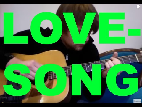 LOVESONG The CureAdele  David Plate Solo Guitar