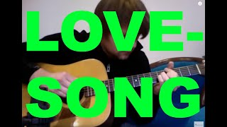 lovesong-the---david-plate-solo-guitar