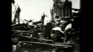 Searching the ruins on Broadway after Galveston Hurricane Sep 8, 1900