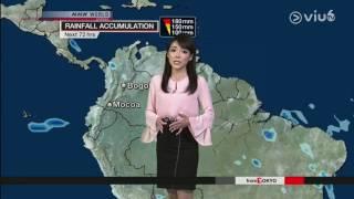 気象予報士・森さやか 170403180000 NHK・Sayaka Mori NHK NEWSLINE 国...