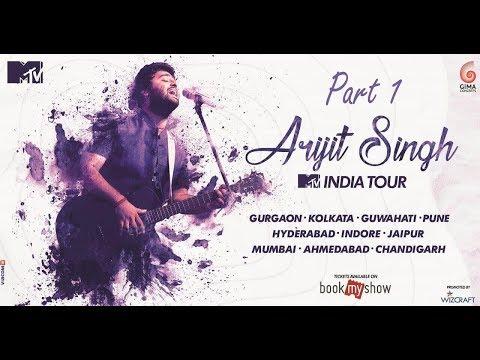 Arijit Singh Live performance live concert Hyderabad   Indore   Mumbai   Jaipur   Pune   Ahmedabad