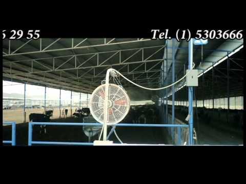 Micro aspersores ventilador industrial doovi - Ventiladores de agua ...