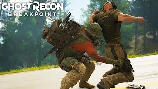 INTENSE NIGHT TIME ASSAULT in Ghost Recon Breakpoint