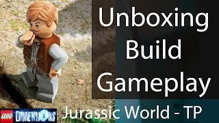 Lego Dimensions Jurassic World Team Pack: Unboxing/building/instructions/gameplay