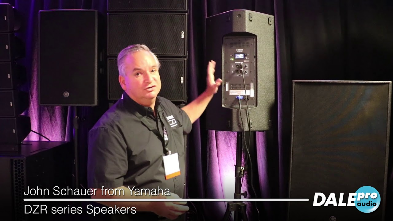 Dale Pro Audio - Yamaha DZR Loudspeakers at AES 2018
